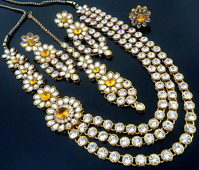 LCT KUNDAN GOLDEN NECKLACE SET