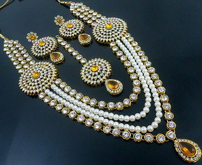 LCT PEARL BOLLYWOOD NECKLACE SET
